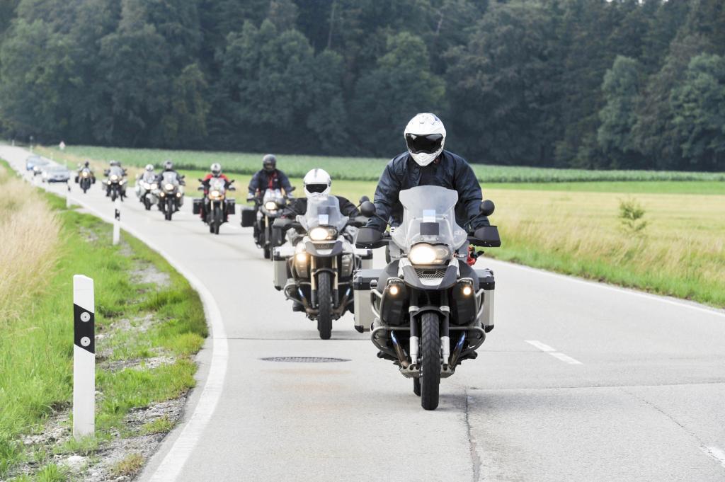 motorrad konvoi